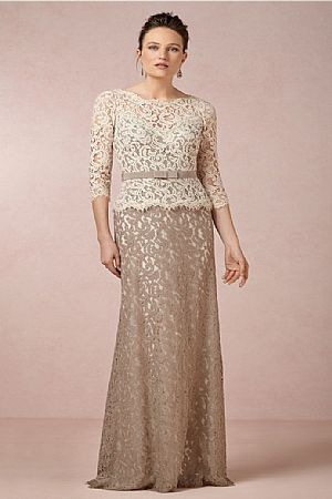 Ivory Mother of the Groom Dresses