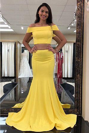 Yellow dress - Prom / Evening / Wedding Dresses