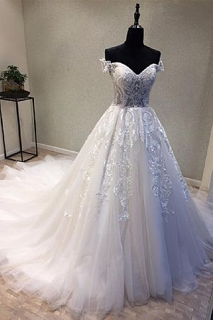 Fairy wedding dress prom evening wedding dresses princess wedding dress with embroidery beading lace applique junglespirit Image collections